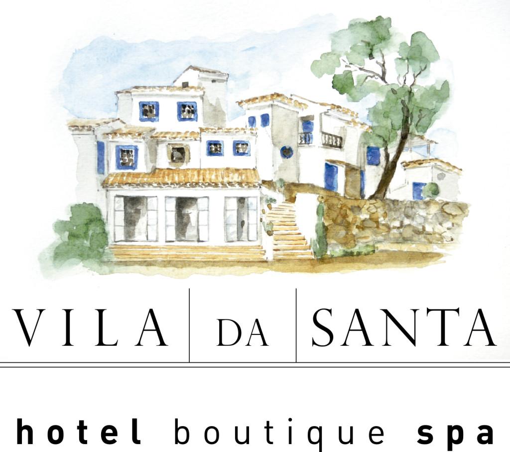 logotipo completo Vila da Santa para midias sociais